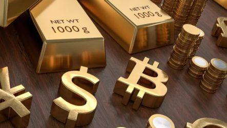 Биткоин против золота