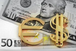 курс евро к долару