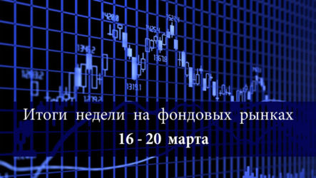 Итоги недели 16-20 марта на фондовых рынках