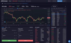 Торговля криптовалютами на бирже Exmo